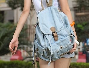 DENIM JEAN BACKPACK