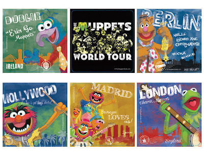 Muppets Party Supplies (12 The Muppets Most Wanted Stickers Kid Party Goody Loot Bag Filler Favor)