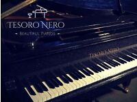 BRAND NEW BLACK DIAMOND SPARKLE SG148 STEINHOVEN BABY GRAND PIANO - COLOUR CHANGE SERVICE