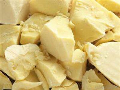 COCOA BUTTER ;100% NATURAL  PURE RAW FRESH COCOA BUTTER 1 oz , 2 oz to 10 lb