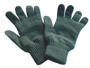 Gloves-Olive-Green-Wool-Nylon-British-Army-issue-Woolen-Winter-Glove-New