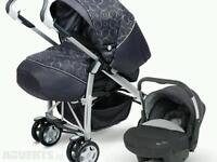 Silvercross ventura 3 in 1 travel system with car seat