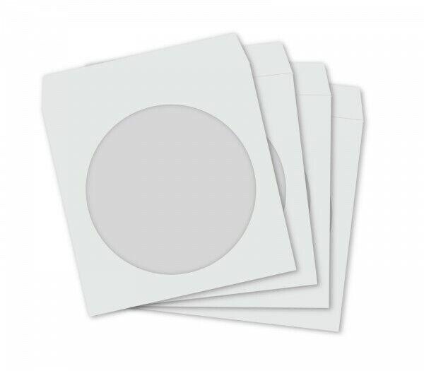 C121 50 CD DVD Papierhüllen Sleeves Papier Hülle G1