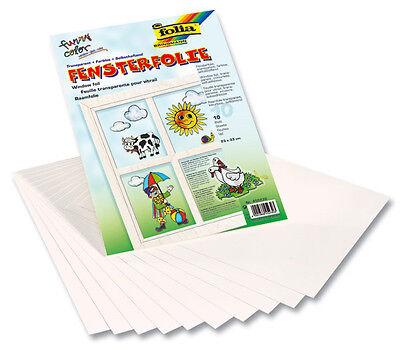 (qm=6,32EUR) Folien-Set - 30 Selbsthaftende Window Color Folien