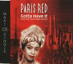 cd single - Paris Red - Gotta Have It (From New York Strai..