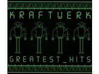 kraftwerk rare 2 cd set new sealed greatest hits