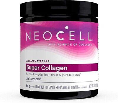 NeoCell Super Collagen Powder, Collagen Peptides, 7oz, Non-GMO, Grass Fed, New