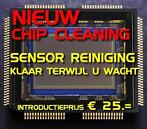 Chip Cleaning (Sensor reiniging) Chipcleaning - Lens kalibra