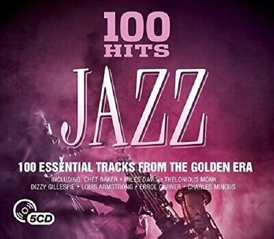 100 Hits Jazz 5-CD NEW SEALED Horace Silver/Charles Mingus/Bud Powell/Max Roach+