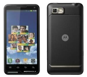 ANDROID MOTOROLA MOTO XT615 UNLOCKED DÉBLOQUÉ PUBLIC MOBILE VIRGIN FIDO HSPA 3G GSM TOUCHSCREEN CAMERA 5MP BLUETOOTH GPS
