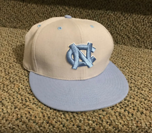 UNC Fitted Hat  North Carolina tar heel blue like new