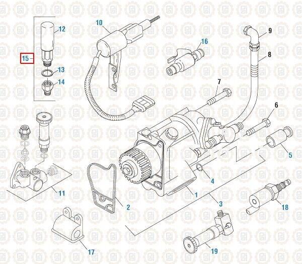 Primer Pump Kit for International DT466E. PAI# 480245 Ref