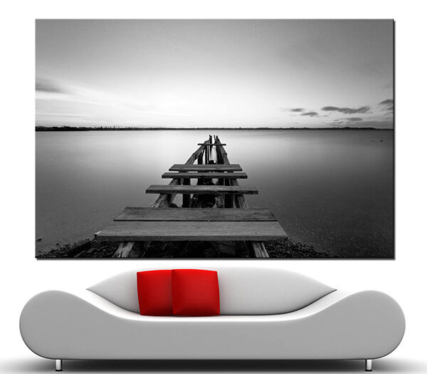 How to decorate a room with black and white canvas prints Black and white canvas art