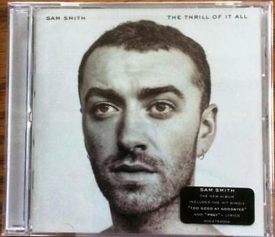 The  Thrill Of It All   By Sam Smith  Cd  Nov 2017  Capitol  New Factory Sealed
