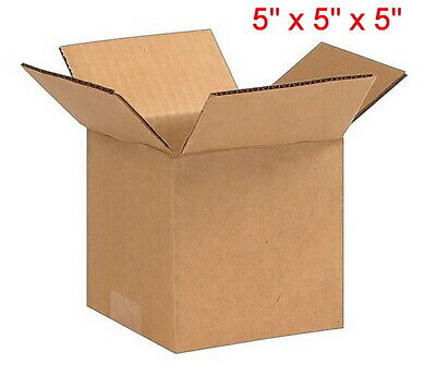 25 Cardboard Paper Boxes 5x5x5 Mailing Packing Shipping Box Corrugated Carton