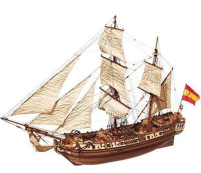 "Beautiful, brand new wooden model ship kit by OcCre: ""La Candelaria""  segunda mano  Embacar hacia Argentina"