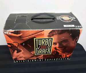 RARE TO FIND TURBO GRAFX 16 COMPLETE IN BOX