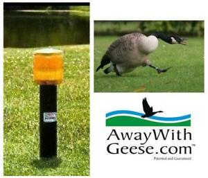 NEW SOLAR POWERED GEESE DETERRENT AWGLAND001 213336953 On Land Unit Pest Control