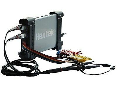 Hantek 6022bl 20mhz Pc Usb Digital Storage Oscilloscope 16 Chs Logic Analyzer