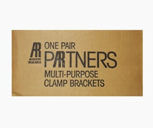 Acoustic Research Partners One Pair Multi-Purpose Clamp Brackets (Brand New!)