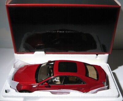 Kyosho Cadillac CTS 1:18 diecast 2008 Crystal Red Mint in Box