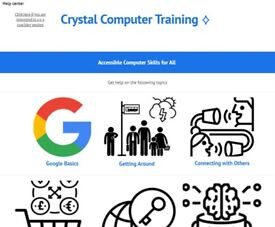 Crystal Computer Training - Adult Computer Literacy Coaching