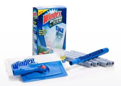 Windex Cleaner Window Outdoor All-in-one Glass Cleaning Tool