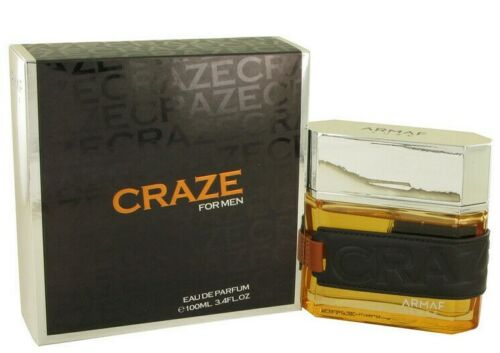 CRAZE FOR MEN BY ARMAF  3.4 OZ / 100 ML EAU DE PARFUM NEW IN BOX & SEALED
