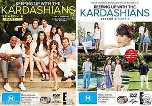 Keeping Up With The Kardashians: SEASON 8 Part 1+2 = NEW R4 DVD
