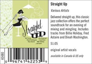 Straight Up-Cocktail Pop/ Jazz  cd