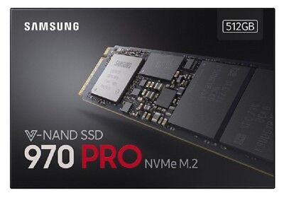 Samsung 970 PRO 512GB - NVMe PCIe M.2 2280 SSD