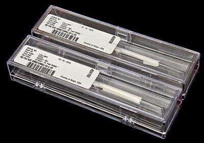 2x New Sealed Northrop Grumman Ndyag Rod 4mm Dia X 70mm 0.68 Ar Laser Crystal