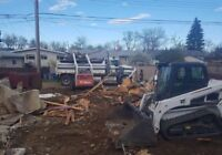 Demolition & excavating services! Call/text or email today!