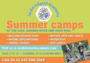 Outdoors Summer Camps