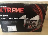 NEW Power Xtreme 150mm Bench Grinder
