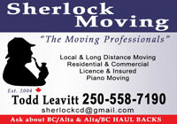 MOVER NEEDED