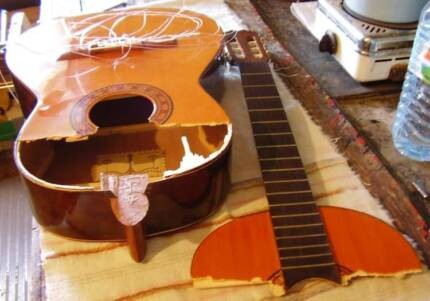 Wanted: DAMAGED OR UNWANTED GUITARS! Can collect from you!!! Adelaide CBD Adelaide City Preview