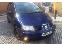 2005 SEAT ALHAMBRA 1.9 ** ONLY £1600 **