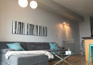Trendy 1 Bedroom Loft with 2 Levels, City Views and a Patio