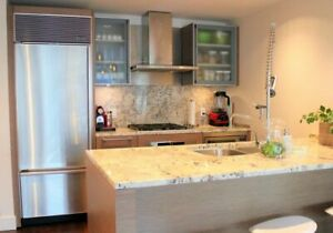 Downtown Vancouver Fully Furnished Condo Rental at Shangri-La
