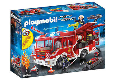 Playmobil City Action Fire Engine 9464 (for Kids 4 and up)