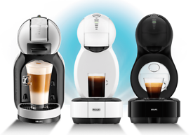 Dolce gusto used 5 times Coffee macine with storage = stand and pods