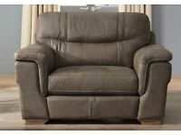 Leather snuggle seat from SCS