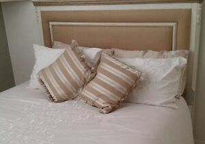 French Provincial Queen bed with mattress Plumpton Blacktown Area Preview