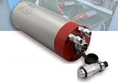 220v Er16 1.5kw High Speed Water Cooled Engraving Machine Spindle Motor 24000rpm