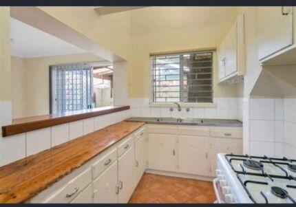 Kitchen, kitchen cabinets and sink