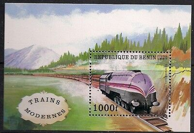 Benin Stamp - Modern trains Stamp - NH