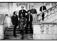 Sensational Soul & Funk Covers Band for your special event