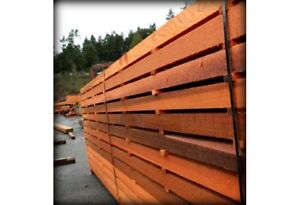 High grade Western Red Cedar for sale