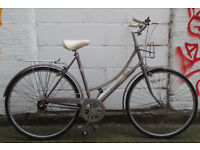 Vintage ladies dutch bike RALEIGH CAPRICE 3 speed size 20 NEW brakes saddle serviced VGC - Welcome